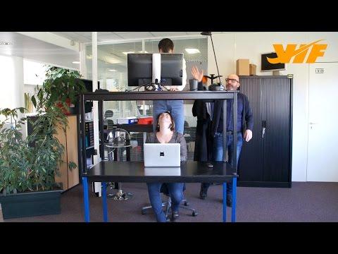 Le maestro du design de la société VIF imagine les bureaux du futur...