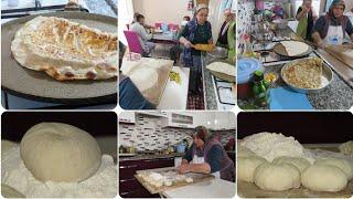 Etli ekmek nasıl yapılır tarifi Misafirimiz var #günlük vlog