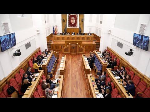VÍDEO | Declaración institucional de 2019 contra la violencia machista en las Cortes