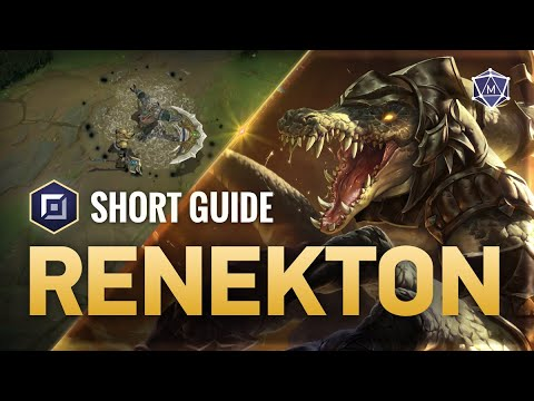 4 Minute Guide to Renekton Top   Mobalytics Short Guides