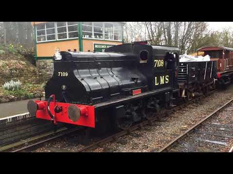East Somerset Railway & Midsomer Norton Heritage Railway - 11th March 2018