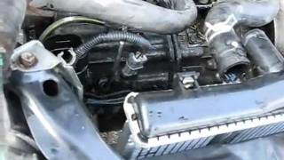 Flushing a cooling system for Blue Devil head gasket repair