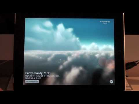 Weather HD App Review for iPad