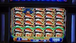 Pirate Ship - FULL SCREEN WILDS - SUPER MEGA HUGE GIANT BIG WIN - Slot Machine Bonus Round