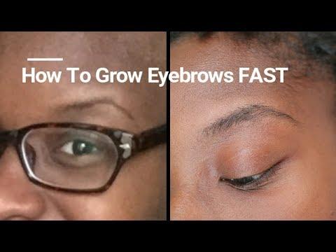 ROGAINE FOR EYEBROW GROWTH - YouTube