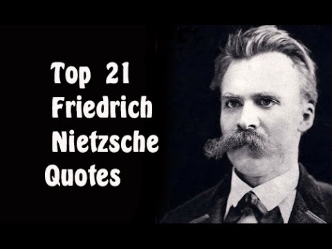 Top 21 Friedrich Nietzsche Quotes || The German ...