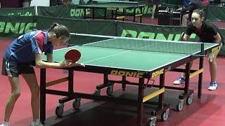 София КОНОВАЛЮК - Ксения ХУРЦИЛАВА Настольный теннис, Table Tennis