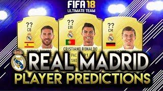 Fifa 18 | real madrid player rating predictions! | w/ronaldo, kroos and ramos!