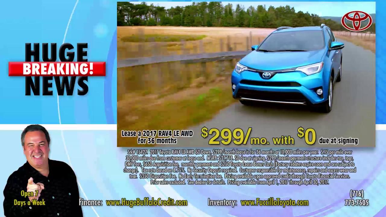 Fuccillo Toyota   Huge News