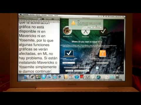 [Tutorial 2016] en Español - Instalar OS X Yosemite, Mavericks o Mountain Lion en Mac NO soportadas