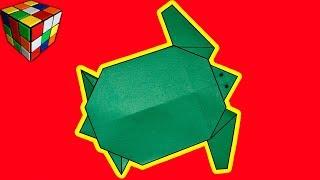 Как сделать ЧЕРЕПАХУ из бумаги. Черепаха оригами своими руками. Поделки оригами