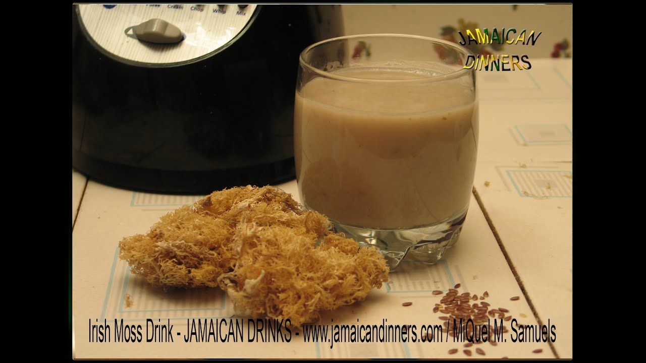 JAMAICAN IRISH MOSS DRINK recipe