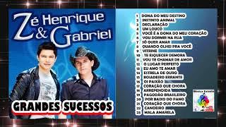 zé henrique e gabriel grandes sucessos cd completo