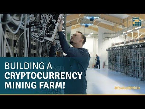Building a Cryptocurrency Mining Farm / Genesis Mining #EvolveWithUs - The Series Episode 2