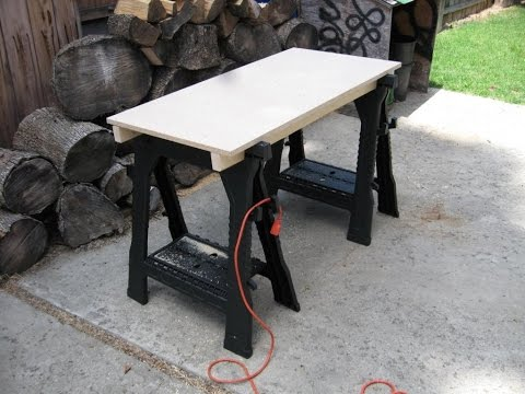Worx Pegasus Folding Workbench Sawhorse Review Doovi