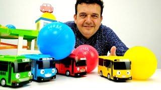 Juegos de Matemáticas de preescolar:🚌 tamaños y números con TAYO el autobús. Actividades Infantiles