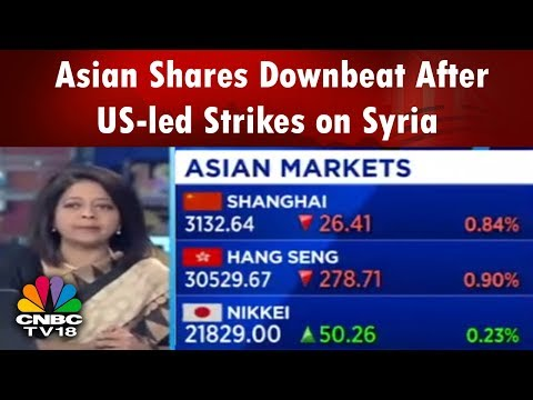 Asian Shares Downbeat After US-led Strikes on Syria | Bazaar Morning Call (Part 1) | CNBC TV18