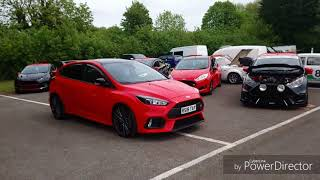 PURE FORD 2018 @ castle combe w/ focus rs heritage