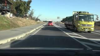 4K 国道354号 岩井バイパス 茨城県坂東市・岩井  2015年8月開通区間