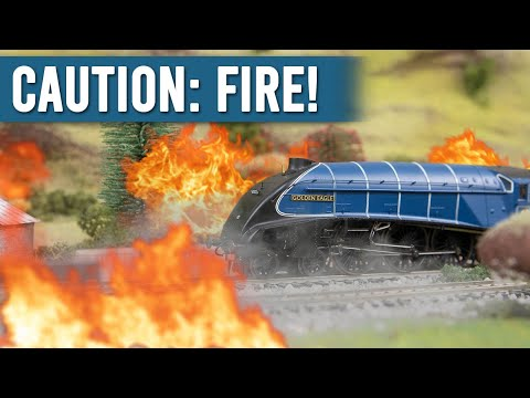 The Time My Model Railway Almost Burned Down
