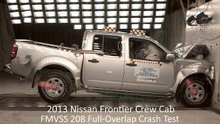 2013-2021 Nissan Frontier Crew Cab Fmvss 208 Full-Overlap Frontal Crash Test (56 Km/h)