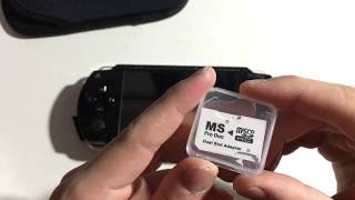 Memory Stick Pro Duo SD Card Adapter for PSP Unboxing & Review