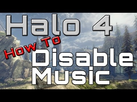 Halo 4 How To Disable Menu Music | Very Helpful! (Especially for Streamers  and Youtubers)