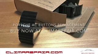 AONED Pair of Climate Control HVAC A//C Button Set for Porsche 987.1 987.1 Cayman Boxster S//for Porsche 997.1 Carrera 911 Targa Turbo