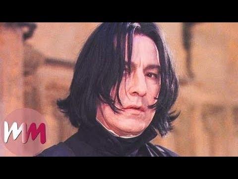 十大《哈利波特》中西弗勒斯·斯内普精彩瞬间 Top 10 Severus Snape Moments In Harry Potter