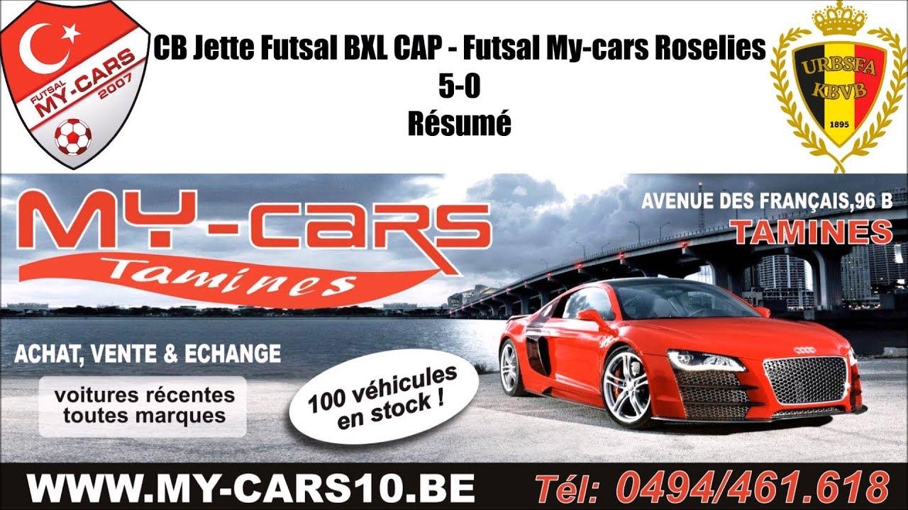 cb futsal jette bxl cap futsal my cars roselies 5 0 résumé by