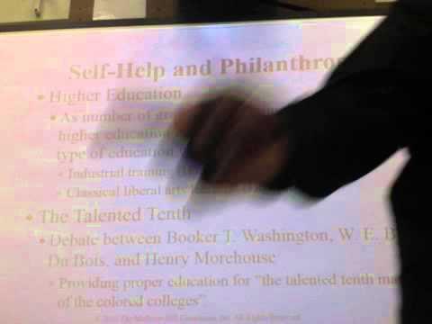 Booker T. Washington vs. Du Bois Debate (65 mins.)