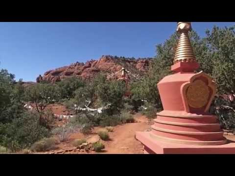 Mystical Buddhist Stupa