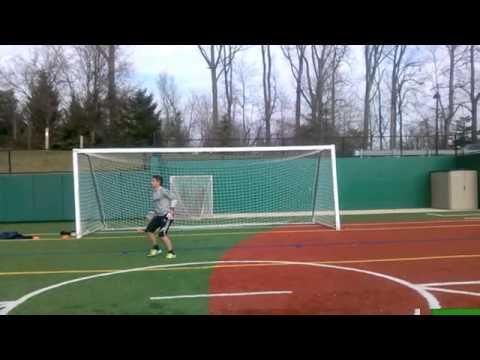 U18 Goalkeeper John Hollinger