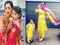 Mother   &  Daughter ❤❤ Matching Designer Outfits ❤❤ Indian  ❤❤