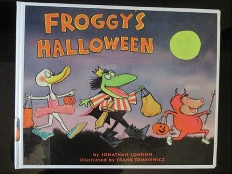 froggys halloween childrens book bedtime story