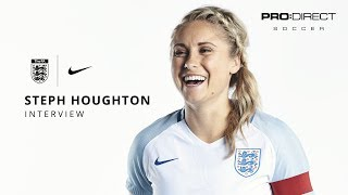England Women's Team Euro 2017: Steph Houghton Interview