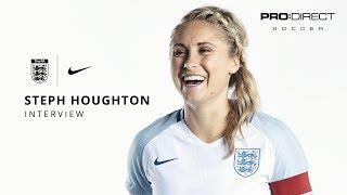 England Women's Team Euro 2017: Steph Houghton Interview