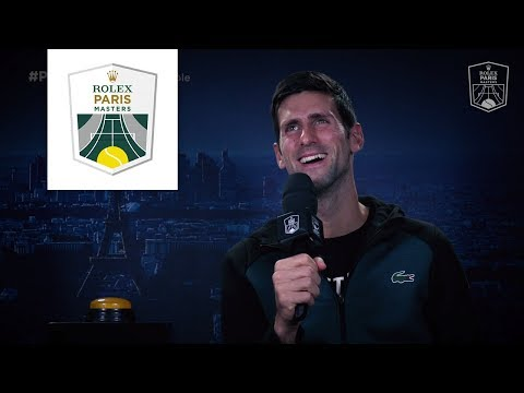 #PlayersBox : Novak Djokovic | Rolex Paris Masters 2018 Mp3