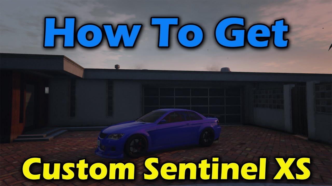 GTA 5 Ubermacht Sentinel XS Online Spawn Location - YouTube Ubermacht Sentinel Xs Gta 5 Location
