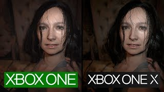 Resident Evil 7   Xbox One X vs Xbox One   4K Graphics Comparison