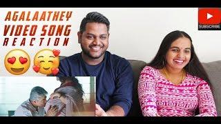 Agalaathey Video Song Reaction | Malaysian Indian Couple | Nerkonda Paarvai | Ajith Kumar | Yuvan