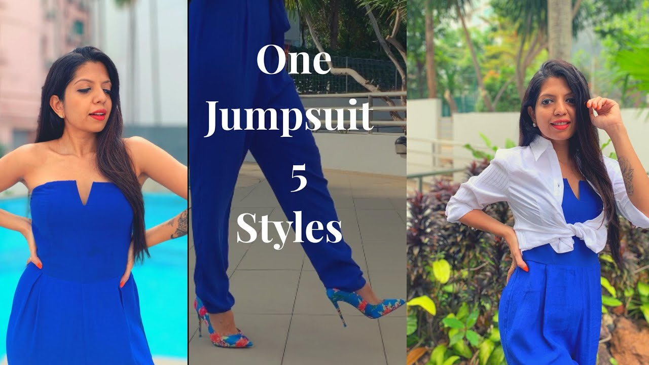 [VIDEO] - One Jumpsuit 5 style ideas 8