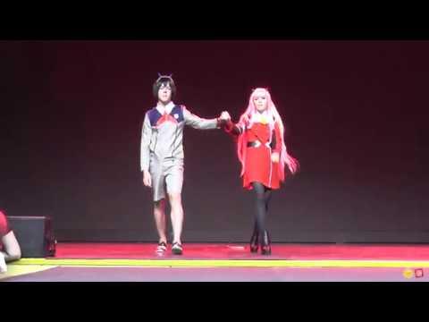 Hiro, Zerotwo (Darling in the Franxx) , (Командное дефиле) Comic Con  Siberia Halloween