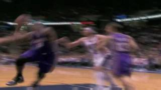 Shaq Monster Dunk vs Nets 4.11.08