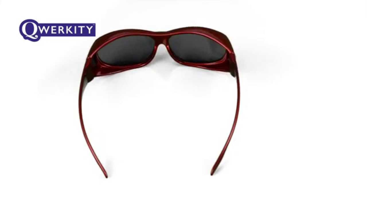 f561a1b003e Polarised Overglasses - Red Sports Style - YouTube