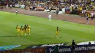 La banda de Zanatepec America vs Atlante Clausura 2012 4-0