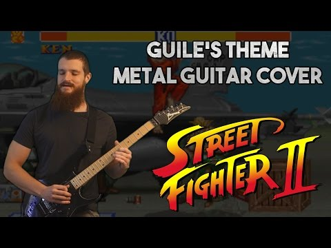 Guile's Theme (Street Fighter II) | METAL GUITAR COVER mp3