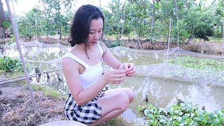 Susu Vlog - I caught a lot of big fish in this pond (I Couldn't Believe it!)