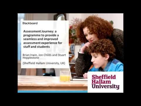 Sheffield Hallam University: Assessment Journey