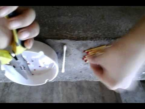 how to make a firecracker with household materials
